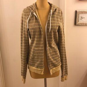 💥AMERICAN APPAREL zip up hooded sweatshirt